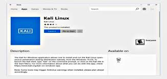 Download Kali Linux For Windows 10