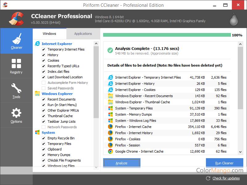 Download CCleaner Professional Plus Full Crack