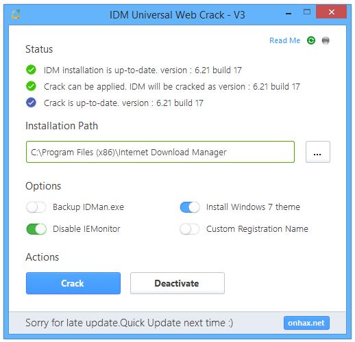 IDM Universal Web Crack