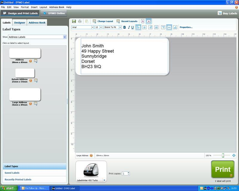 Download Dymo Labelwriter 450 Driver