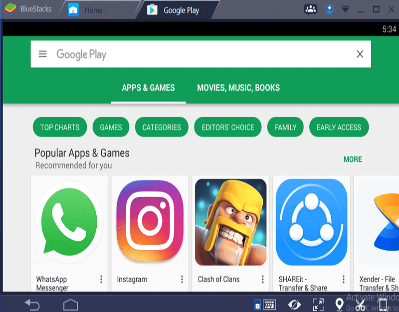 Playstore For Laptop Windows 10 Download
