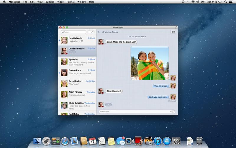 Mac OS X download