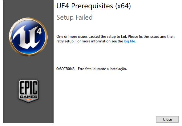Download Ue4 Prerequisites X64