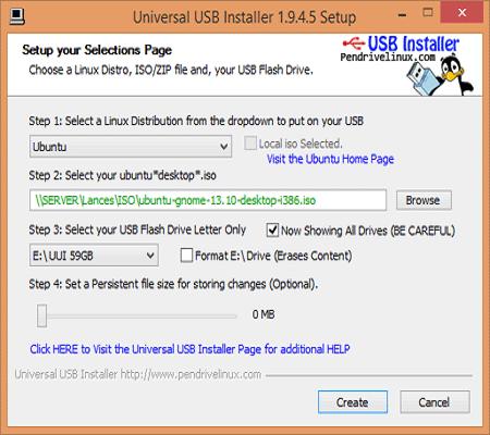Universal USB Installer Windows 10 Free